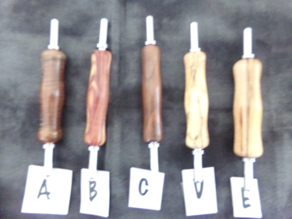 Wooden Seam Rippers